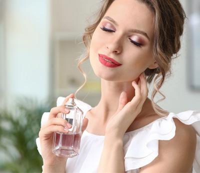 parfum sur les vêtements